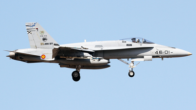 46-01 - McDonnell Douglas EF-18A Hornet - Spain - Air Force
