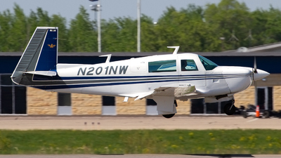 N201NW - Mooney M20J-201 - Private