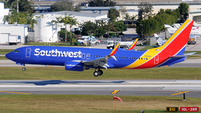 A picture of N8668A - Boeing 7378H4 - Southwest Airlines - © Alexander Portas