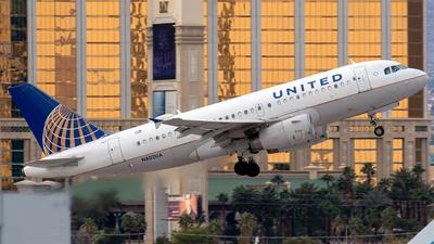 N802UA - Airbus A319-131 - United Airlines