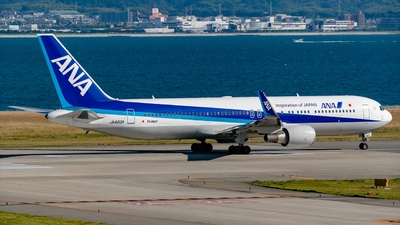 JA622A - Boeing 767-381(ER) - All Nippon Airways (Air Japan)