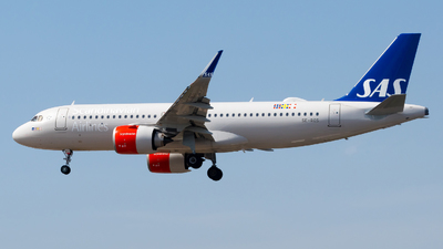 SE-ROS - Airbus A320-251N - Scandinavian Airlines (SAS)