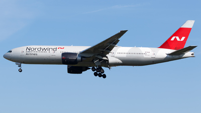 A picture of VPBJG - Boeing 7772Q8(ER) - Nordwind Airlines - © Matteo Lamberts
