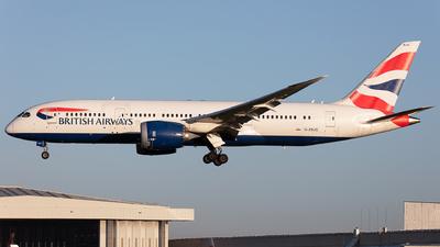 A picture of GZBJG - Boeing 7878 Dreamliner - British Airways - © Airlinergeek