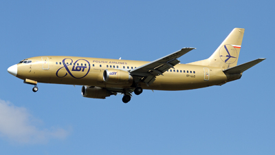 SP-LLC - Boeing 737-45D - LOT Polish Airlines