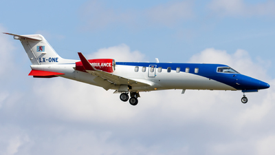 LX-ONE - Bombardier Learjet 45XR - Luxembourg Air Rescue (LAR)