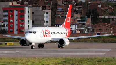 N2106A - Boeing 737-55S - LC Perú
