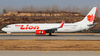 HS-LTK - Boeing 737-9GPER - Thai Lion Air