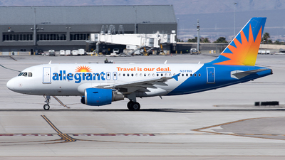 A picture of N311NV - Airbus A319111 - Allegiant Air - © Yixin Chen