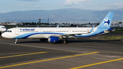 XA-GEO - Airbus A321-111 - Interjet