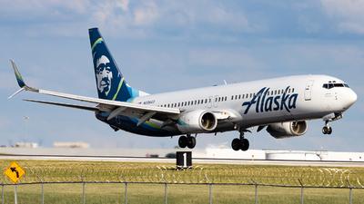 A picture of N306AS - Boeing 737990 - Alaska Airlines - © Sean Brink