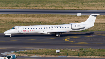 G-RJXI - Embraer ERJ-145LR - Loganair