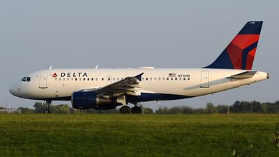 N316NB - Airbus A319-114 - Delta Air Lines