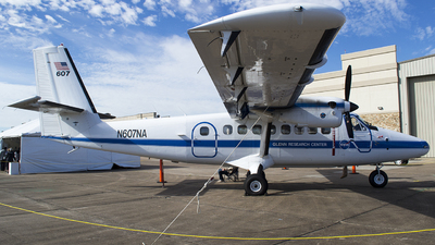 N607NA - De Havilland Canada DHC-6-300 Twin Otter - United States - National Aeronautics and Space Administration (NASA)
