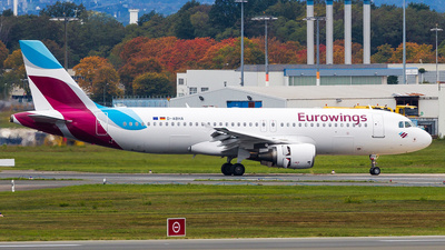 A picture of DABHA - Airbus A320214 - Eurowings - © Andre Bonn