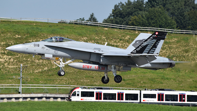 J-5018 - McDonnell Douglas F/A-18C Hornet - Switzerland - Air Force