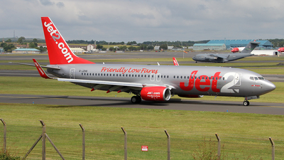 A picture of GJZHS - Boeing 7378MG - Jet2 - © Ian Howat