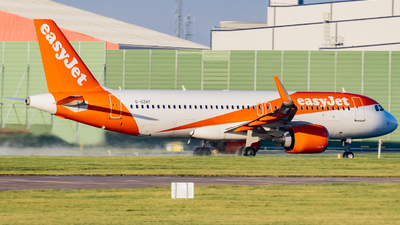 A picture of GUZHT - Airbus A320251N - easyJet - © Nigel Shim