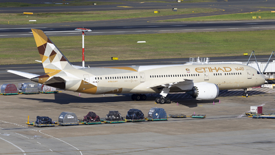 A6-BLY - Boeing 787-9 Dreamliner - Etihad Airways