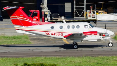 HK-4433-G - Beechcraft F90 King Air Blackhawk - Private