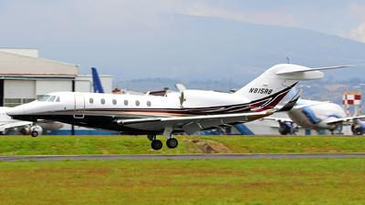 N815RB - Cessna 750 Citation X - Private