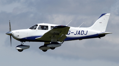 A picture of GJADJ - Piper PA28181 - [2843009] - © Terry Figg