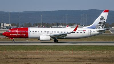 EI-FJC - Boeing 737-81D - Norwegian
