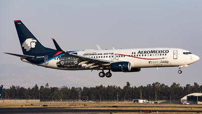 N845AM - Boeing 737-852 - Aeroméxico