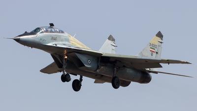 3-6302 - Mikoyan-Gurevich MiG-29UB Fulcrum - Iran - Air Force