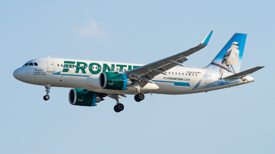 A picture of N367FR - Airbus A320251N - Frontier Airlines - © Haocheng Fang