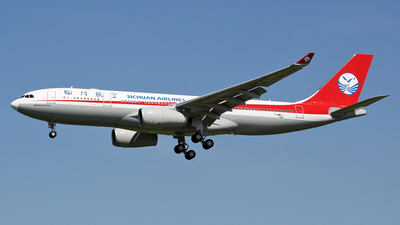 F-WWCJ - Airbus A330-243 - Sichuan Airlines