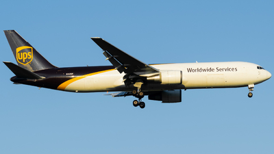 A picture of N363UP - Boeing 767346(ER)(BCF) - UPS - © Damian Maciejak