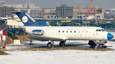 HA-YLR - Yakovlev Yak-40 - Flight Inspection Service