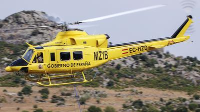 EC-HZD - Bell 412 - Inaer