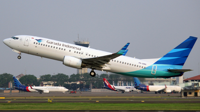 PK-GMG - Boeing 737-8U3 - Garuda Indonesia
