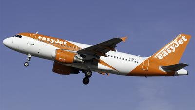 A picture of GEZAI - Airbus A319111 - easyJet - © Bocchio Giacomo