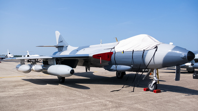 A picture of N344AX - Hawker Hunter MK.58 - [41H697429] - © Ksavspotter