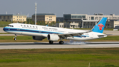 A picture of B306J - Airbus A321253N - China Southern Airlines - © SEN BAI
