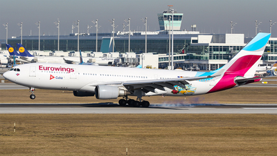 D-AXGA - Airbus A330-203 - Eurowings (SunExpress Germany)