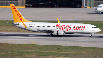 A picture of TCCPZ - Boeing 7378H6 - Pegasus Airlines - © Turkay Oksuz