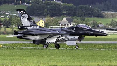 FA-101 - General Dynamics F-16AM Fighting Falcon - Belgium - Air Force