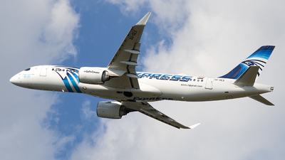 A picture of SUGEX - Airbus A220300 - EgyptAir - © Hubay Andor