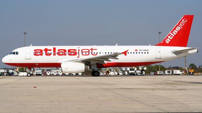 TC-OGO - Airbus A320-232 - AtlasJet