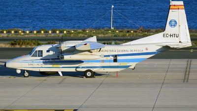 A picture of ECHTU - Casa C212400MP Aviocar - [470] - © Alejandro Hern�ndez Le�n