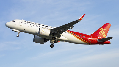 A picture of B30CU - Airbus A320271N - Shenzhen Airlines - © Minizyi