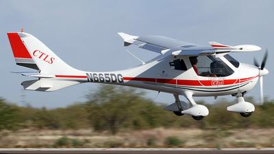 A picture of N665DG - Flight Design CTLS - [080413] - © Jeremy D. Dando