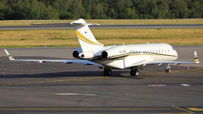 LX-JNC - Bombardier BD-700-1A10 Global Express XRS - Luxaviation