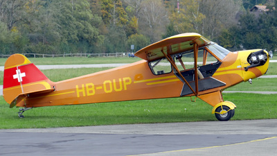 HB-OUP - Piper J-3C-90 Cub - Private