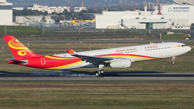 F-WWKD - Airbus A330-343 - Hainan Airlines