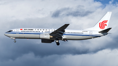 B-5179 - Boeing 737-86N - Air China